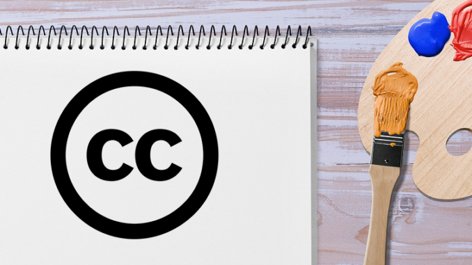Combining Copyright free images to make content