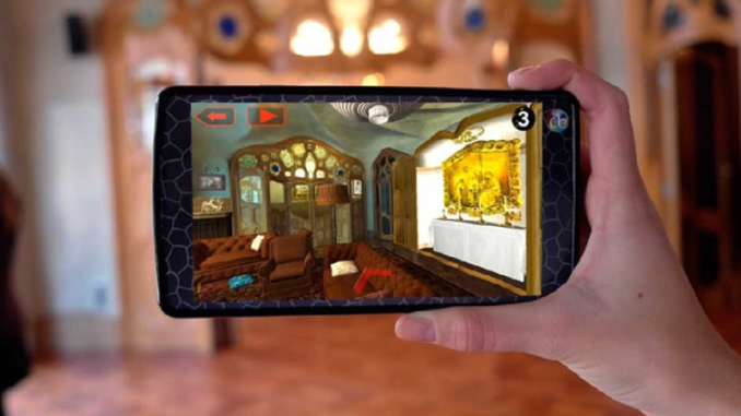 AR devices used for the Casa Batlló Museum