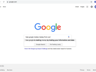 search engines --leave us alone