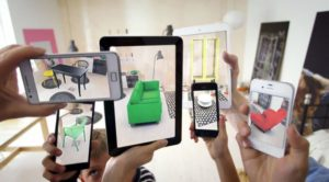 Picture showing Smartphone augmented reality Source: Wiki Author: OyundariZorigtbaatar CC 4.0