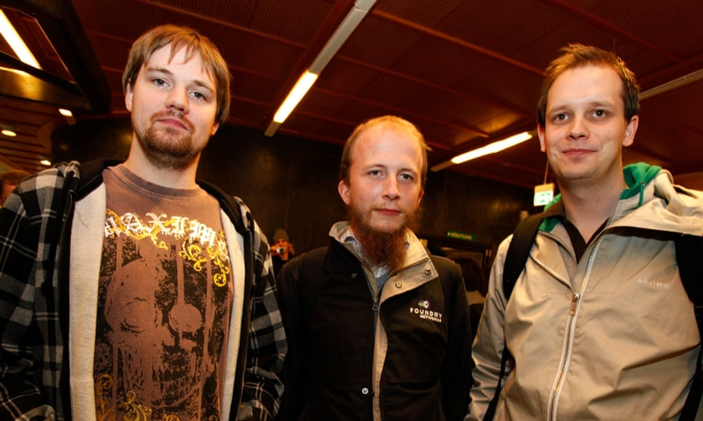 The Pirate Bay Founders